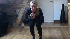 Work-out met Irene