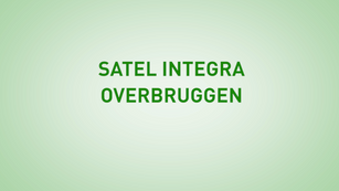 Instructie Satel Integra overbruggen