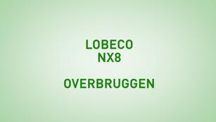 Instructie Lobeco NX8 overbruggen
