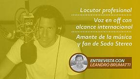 """Leandro Brumatti a """"Sana Distancia"""" con César Hernández"""