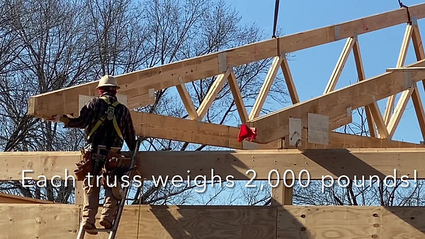 Construction Update- Trusses