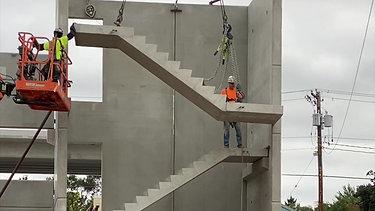 Parking Ramp Stairs