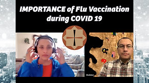Importance of Flu Vaccination during COVID 19