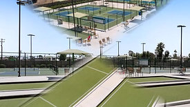 Pickleball and Bocceball Courts