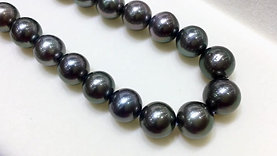45cm AAA 8-11 mm Tahitian Pearl Classic Necklace