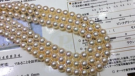 45cm, Queen|皇后 8.5-9 mm Akoya Pearl Classic Necklace w/ Japanese Certificate