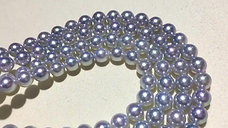 45cm, Madama|真多麻 7-7.5mm Akoya Pearl Necklace w/ Japanese Certificate