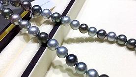 45cm AAAA 12-13 mm Morandi Tahitian Pearl Classic Necklace