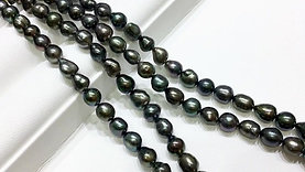 45cm KESHI|Wild Tahitian Pearl Classic Necklace - AAAA