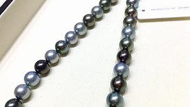 45cm AAAA 11-12 mm Morandi Tahitian Pearl Classic Necklace