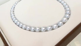45cm 9-12 mm South Sea Pearl Classic Necklace - AAA