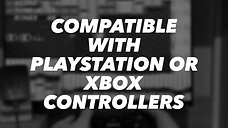 PlayBox Compatibility with PlayStation & XBox Controllers