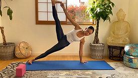 (75 min) Beautiful Burn, Hip Openers, Hip Strengthening & Handstand Play
