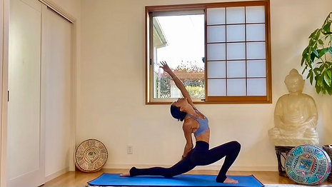 (20min) Raise the Frequency Get Up, Stand Up No Vinyasa Flow
