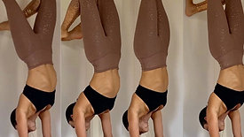 (55 Min.) Strong Flow to Handstand