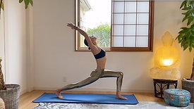 (35 Min) For the Busy Yogi All Standing Flow, Vinyasa without Vinyasa