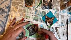 Arts Undefined - Mini-Canvas Ornaments