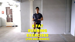 5 Fat Burning Exercises for Beginners