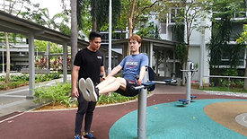 Outdoor Workout with Lee Teng