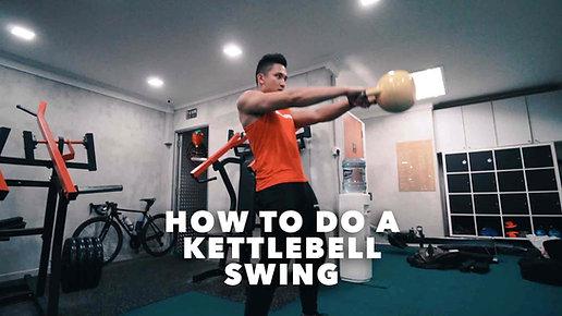 How To Do Kettlebell Swings