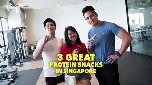 3 Great Protein Snacks in Singapore