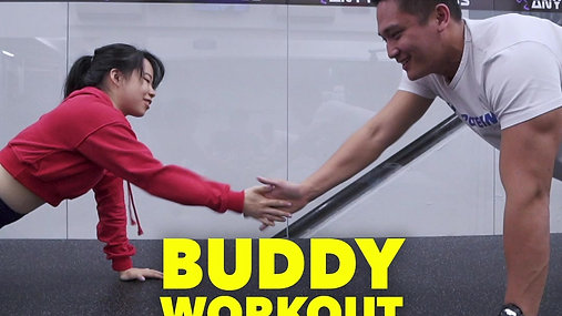 Buddy Workout - Burpee