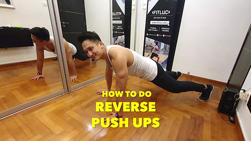 How to Do Reverse Push Ups