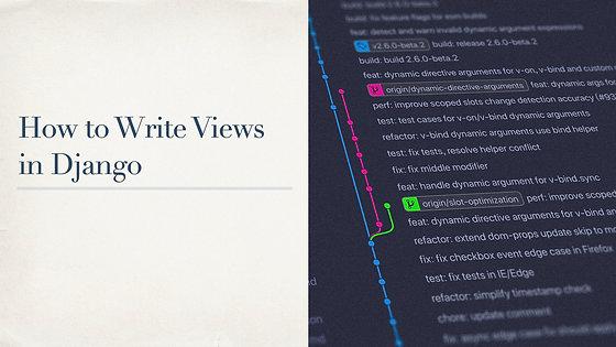 How to Write Views in Django