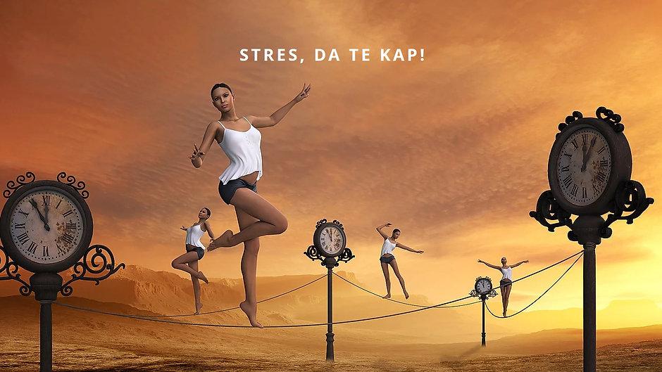 Stres, da te kap!