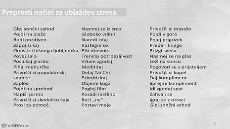 PREPROSTI NAČINI ZA UBLAŽITEV STRESA