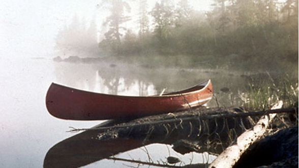 Paddling Quetico Video.