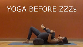 Yoga before Zzzs