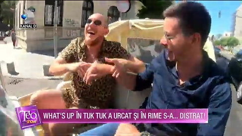 Tuk-Tuk on TV Channel KanalD