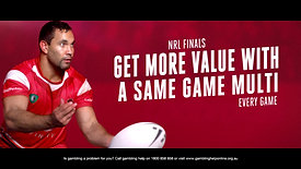 NRL Finals Television Advertisements