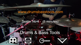 TEASER 4 - DRUMS & BASS TOOLS