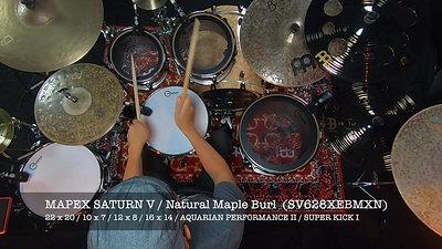 MATERIEL - MAPEX SATURN V