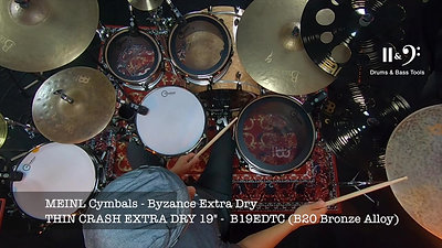 MATERIEL - MEINL EXTRA DRY THIN CRASH 19