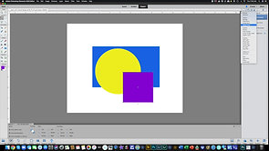 Layers with Colored Shapes - Homework 2