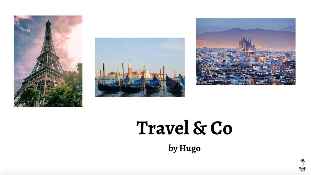 "Vidéo comparative - Destination Europe ""The Hotel Site"""