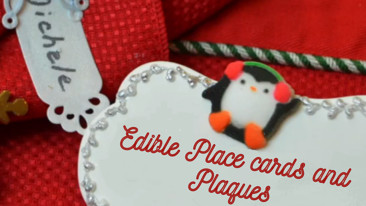 Holiday Place cards and Plaques