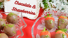 Free Video: Chocolate Truffles & Strawberries