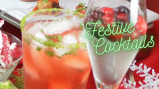 Free Video: Festive Cocktails