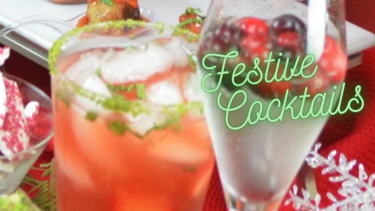 Free Video: Festive Cocktails