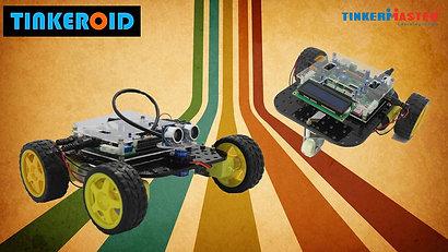 Tinkeroid - Programmable Robotic Kit