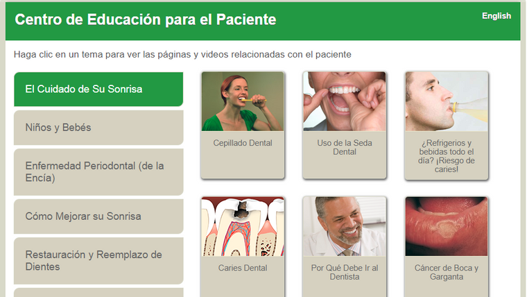 ADA PatientSmart Spanish Language Videos