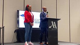 America's Frontline Doctors, Angela Scott- King UGHA Opening