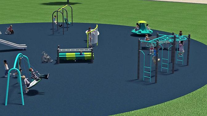 Willard Park Inclusive Playground Animation