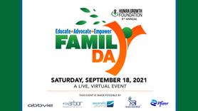 September 18, 2021 - 8th Annual National Growth Awareness Family Day