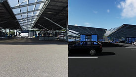 Parking Super U Orthez