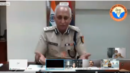 Sh. S.N.Shrivastava, Commissioner of Police
